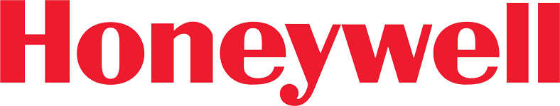 The Honeywell logo, a client of Red Noise 6 video production.